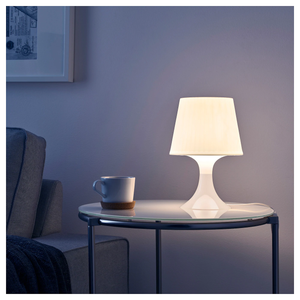 LAMPAN Table lamp, white