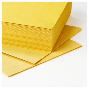 FANTASTISK Paper napkin, yellow, pack of 50