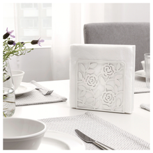 Load image into Gallery viewer, LIKSIDIG Napkin holder, white, 16x16 cm