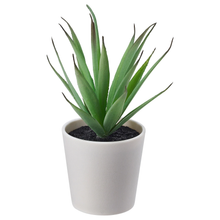Load image into Gallery viewer, FEJKA Artificial potted plant with pot, in/outdoor Succulent, 6 cm