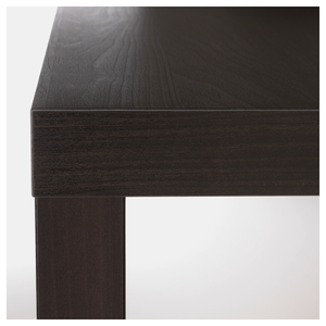 LACK Side table, black-brown