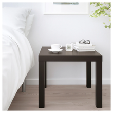Load image into Gallery viewer, LACK Side table, black-brown