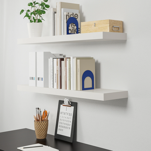 LACK Wall shelf, white