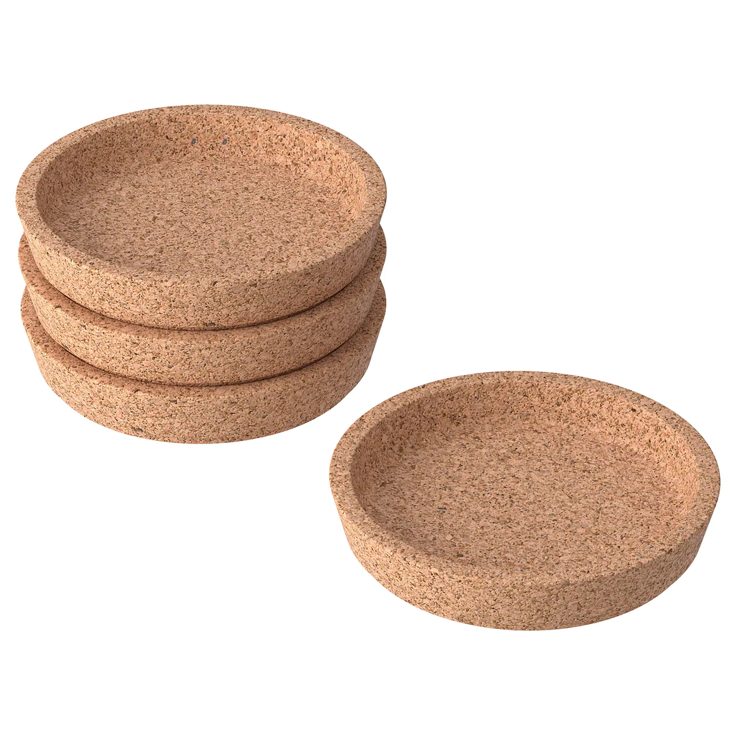 SOLO Coasters, Cork, set of 2