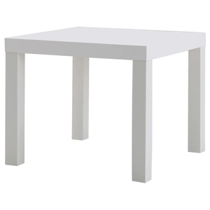 LACK Side table, white
