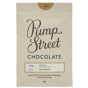 Pump Street Chocolate Christmas 70g Bar Old Fire Station