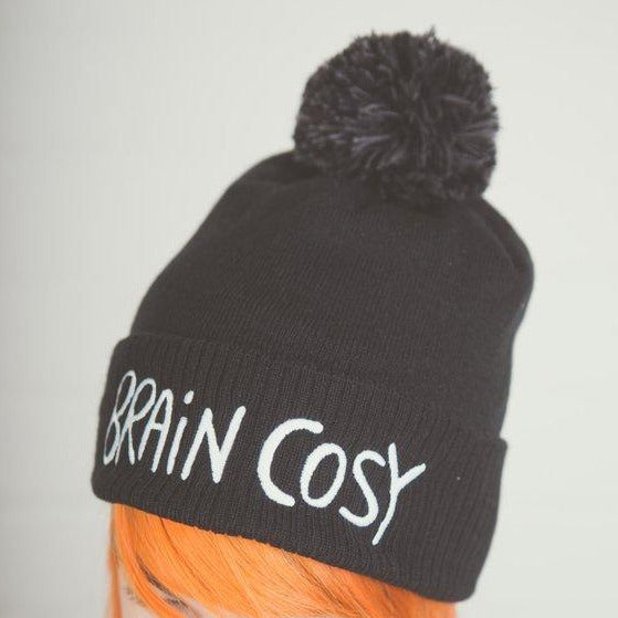Katie Abey 'Brain Cosy' Bobble Hat Old Fire Station