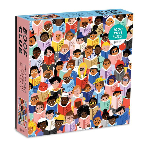 'Book Club' 1000 Piece Jigsaw Puzzle - Shop at the Old Fire Station