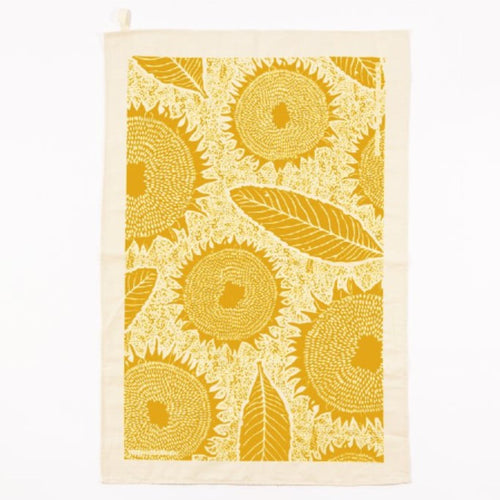 Studio Wald Sunflower Tea Towel Old Fire Station