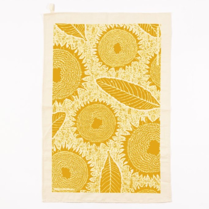 Studio Wald Sunflower Tea Towel Shop at the Old Fire Station