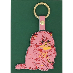 ARK Colour Design 'Meow' Kitten Key Fob Shop at the Old Fire Station