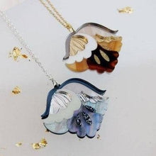Load image into Gallery viewer, Rosa Pietsch Nouveau Flower Pendant Necklace Shop at the Old Fire Station