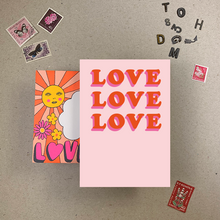 Load image into Gallery viewer, Imogen Owen 1970's Good Vibes Card