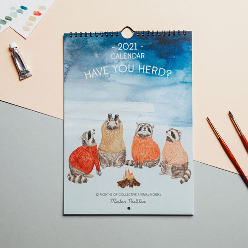 Mister Peebles 'Have you herd' 2021 Calendar