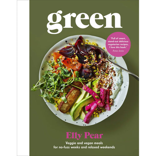 'Green: Veggie and Vegan Meals' by Elly Pear Old Fire Station