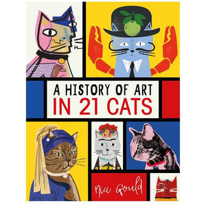 'A History of Art in 21 Cats' by Nia Gould Old Fire Station