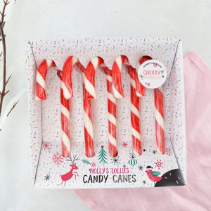 Holly's Lollies Set of 5 Candy Canes Shop at the Old Fire Station