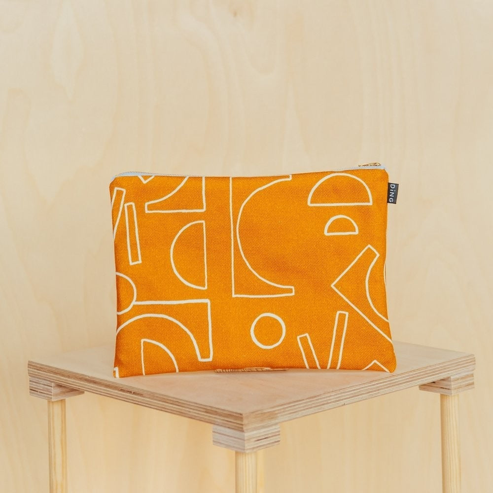 Ding Ding Design Large Pouch - Shop at the Old Fire Station