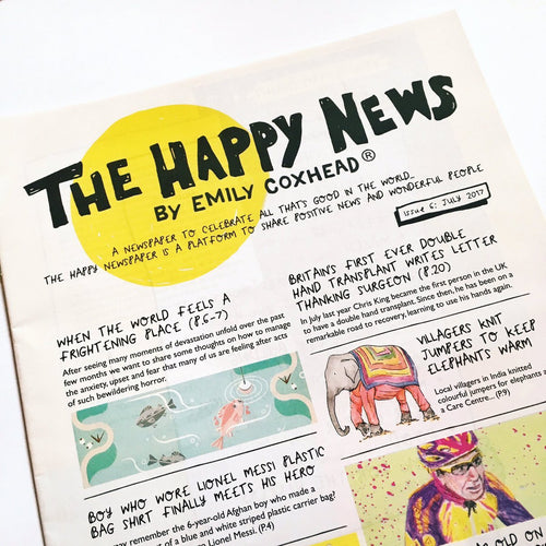 The Happy Newspaper - Shop at the Old Fire Station