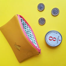 Load image into Gallery viewer, PaperCutts Designs Leather Embroidered Coin Purse