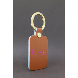 ARK Colour Design Boobs Key Fob Shop at the Old Fire Station