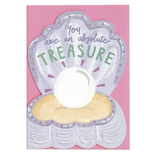 Load image into Gallery viewer, Raspberry Blossom 'Pop' Die Cut and Foiled Greeting Card