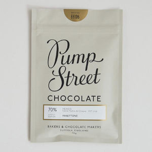 Pump Street Chocolate Christmas 70g Bar - Shop at the Old Fire Station