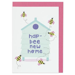 Raspberry Blossom 'Puntastic' Greeting Card Old Fire Station
