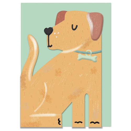Raspberry Blossom 'Pawsome' Greeting Card - Shop at the Old Fire Station