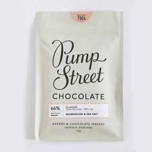 Pump Street Chocolate Bakery Series 70g Bar - Shop at the Old Fire Station