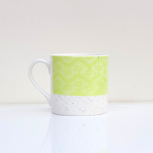 Load image into Gallery viewer, Rolfe & Wills Sgraffito Bone China Mug - Shop at the Old Fire Station