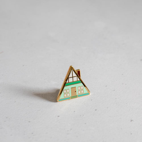 Finest Imaginary Enamel Pin Badge Old Fire Station