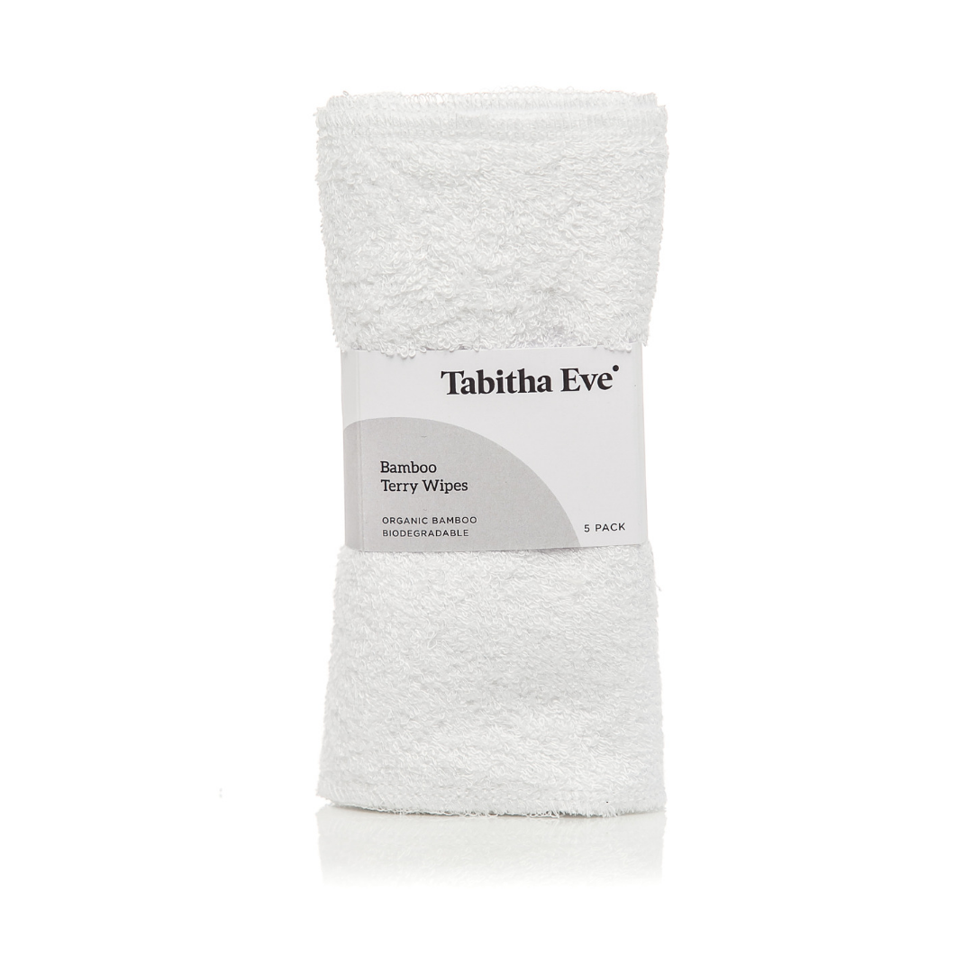 Tabitha Eve Bamboo Terry Wipes 5 Pack Old Fire Station