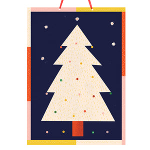 The Printed Peanut - Christmas Tree Advent Calendar Old Fire Station