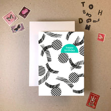 Load image into Gallery viewer, Imogen Owen 'Memphis' Cut Out Greeting Card - Shop at the Old Fire Station