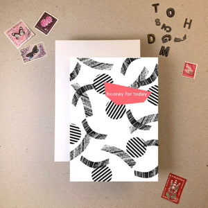 Imogen Owen 'Memphis' Cut Out Greeting Card - Shop at the Old Fire Station