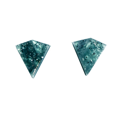 Rosa Pietsch Glitter Diamond Stud Earrings - Shop at the Old Fire Station
