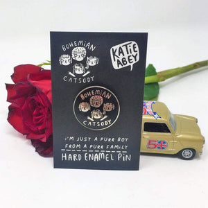 Katie Abey Enamel Pin - Shop at the Old Fire Station