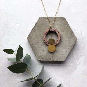 Mica Peet - Circle Necklace Old Fire Station