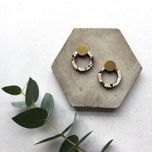 Load image into Gallery viewer, Mica Peet - Ring Stud Earrings Old Fire Station
