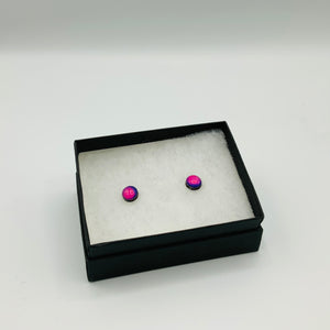 myBearHands Watercolour Stud Earrings - Shop at the Old Fire Station
