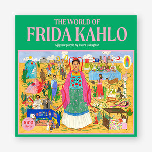 'The World of Frida Kahlo' 1000 Piece Jigsaw Puzzle - Shop at the Old Fire Station