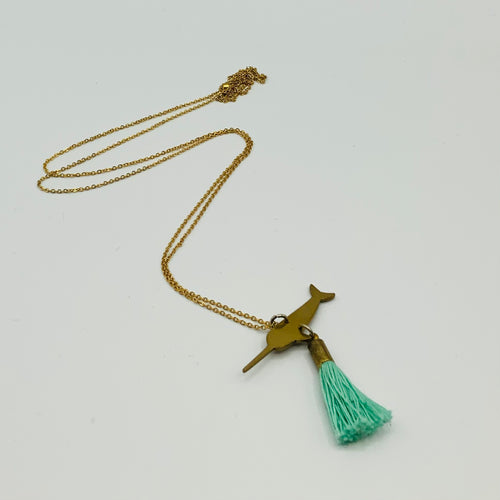 MyBearHands Tassel Totem Necklace