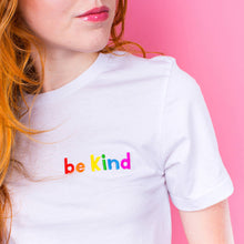 Load image into Gallery viewer, Alphabet Bags 'Be Kind' Unisex Tee Shirt Old Fire Station