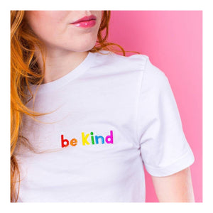 Alphabet Bags 'Be Kind' Unisex Tee Shirt Old Fire Station