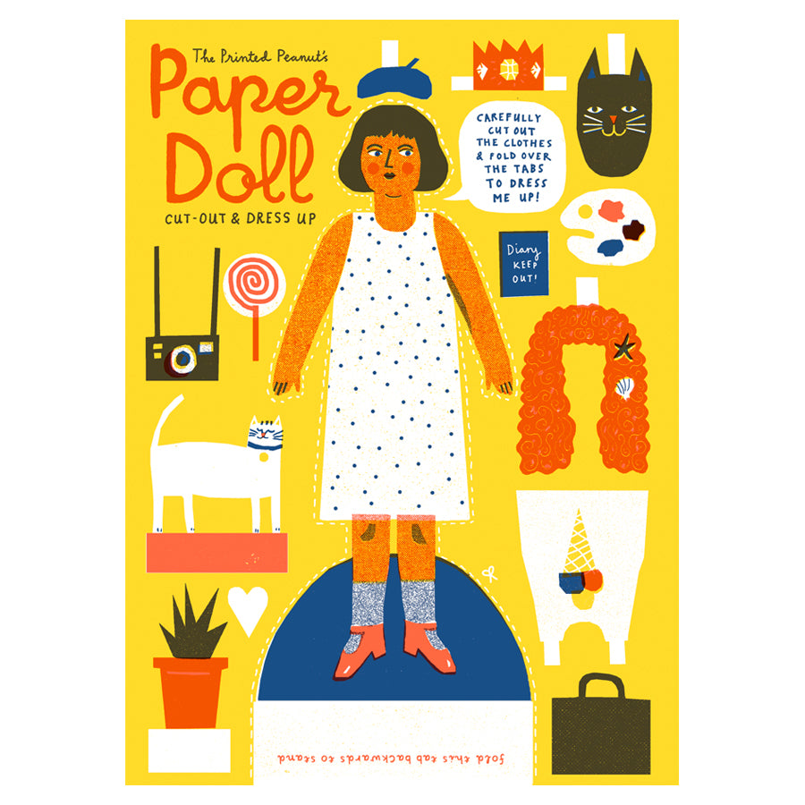 The Printed Peanut - Paper Doll Old Fire Station