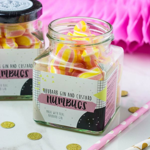 Holly's Lollies Jar of Humbugs Old Fire Station