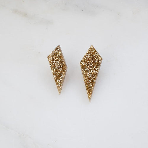 Wolf & Moon Shard Studs Old Fire Station