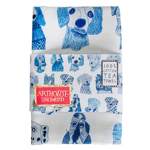 Arthouse Unlimited Tea Towel - Shop at the Old Fire Station