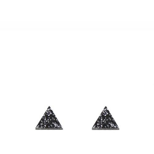 Wolf & Moon Triangle Studs Old Fire Station